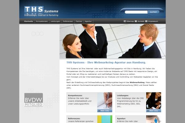 Webdesign THS Systems