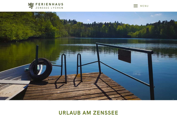 Webdesign Forsthaus am Zenssee 1