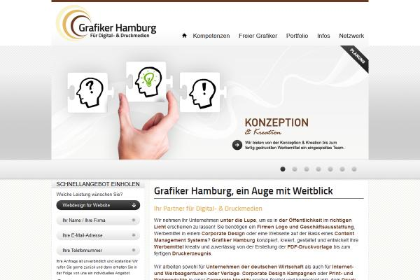 Webdesign Grafiker Hamburg