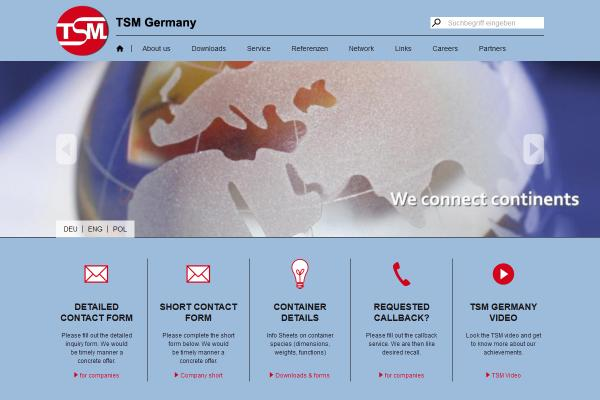 Webdesign TSM Germany