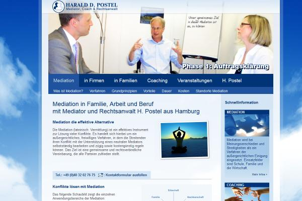 Webdesign Mediation Postel