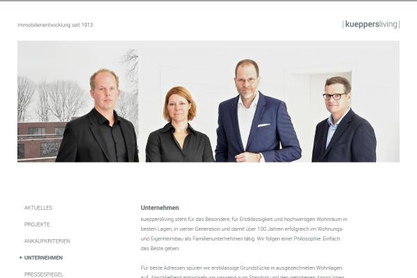Webdesign Kueppers Living 2