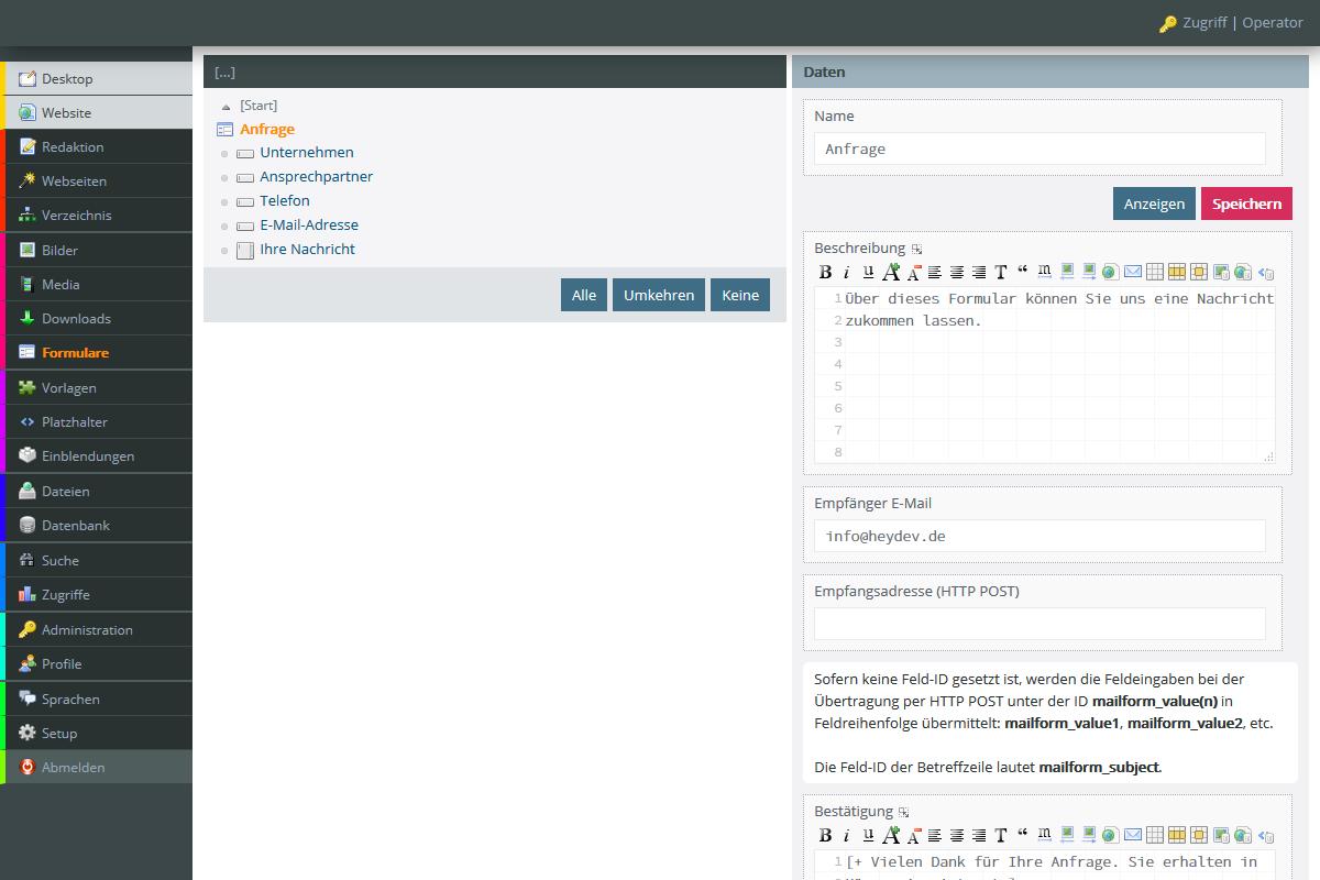 NUOS - Das kostenlose PHP CMS für Profis